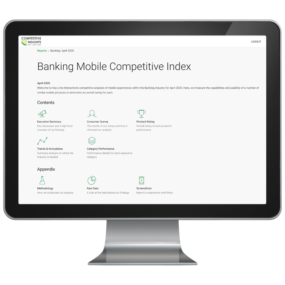 Competitive Insights Banking Index