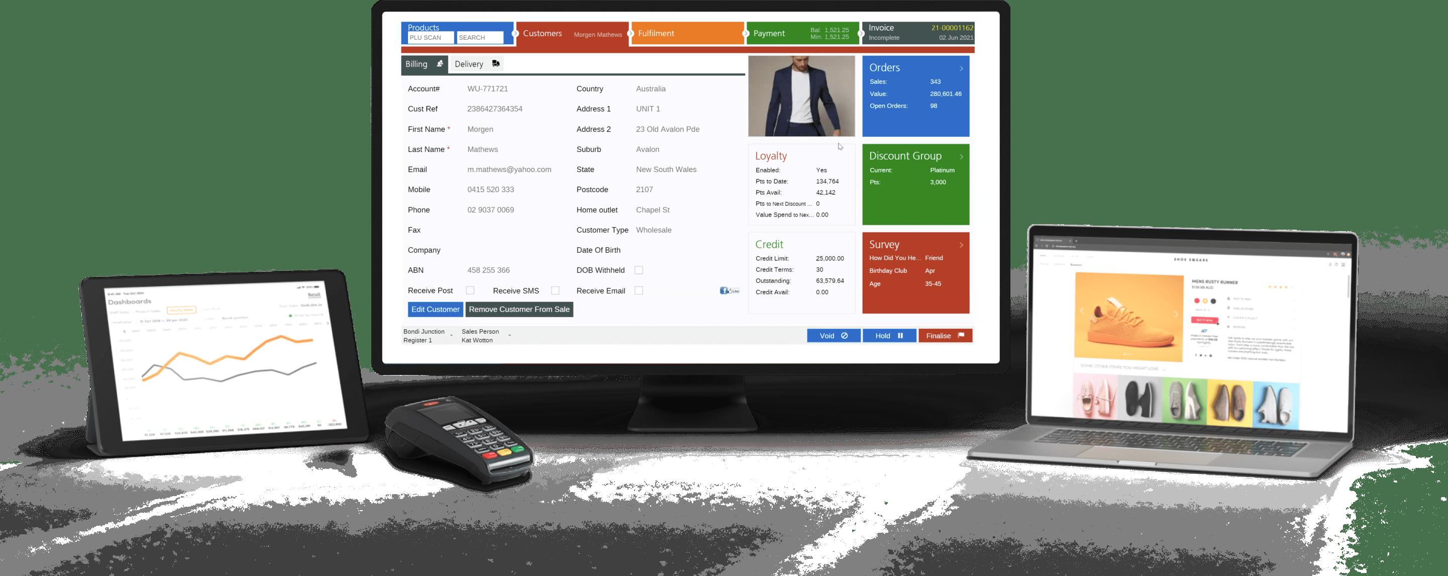 Retail Express Software - 1