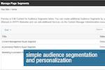 Captura de pantalla de Unbound Marketing: Audience segmentation and personalization