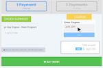 PayKickstart screenshot: Coupon codes