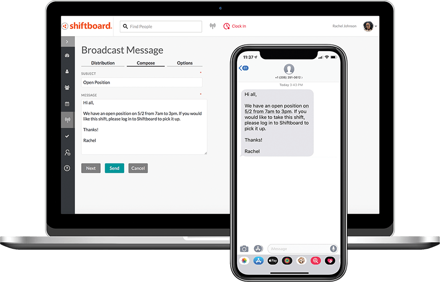 ScheduleFlex Software - Real-Time Communication