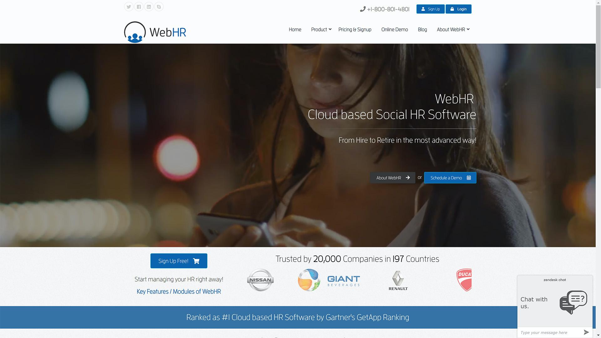 WebHR Software - WebHR