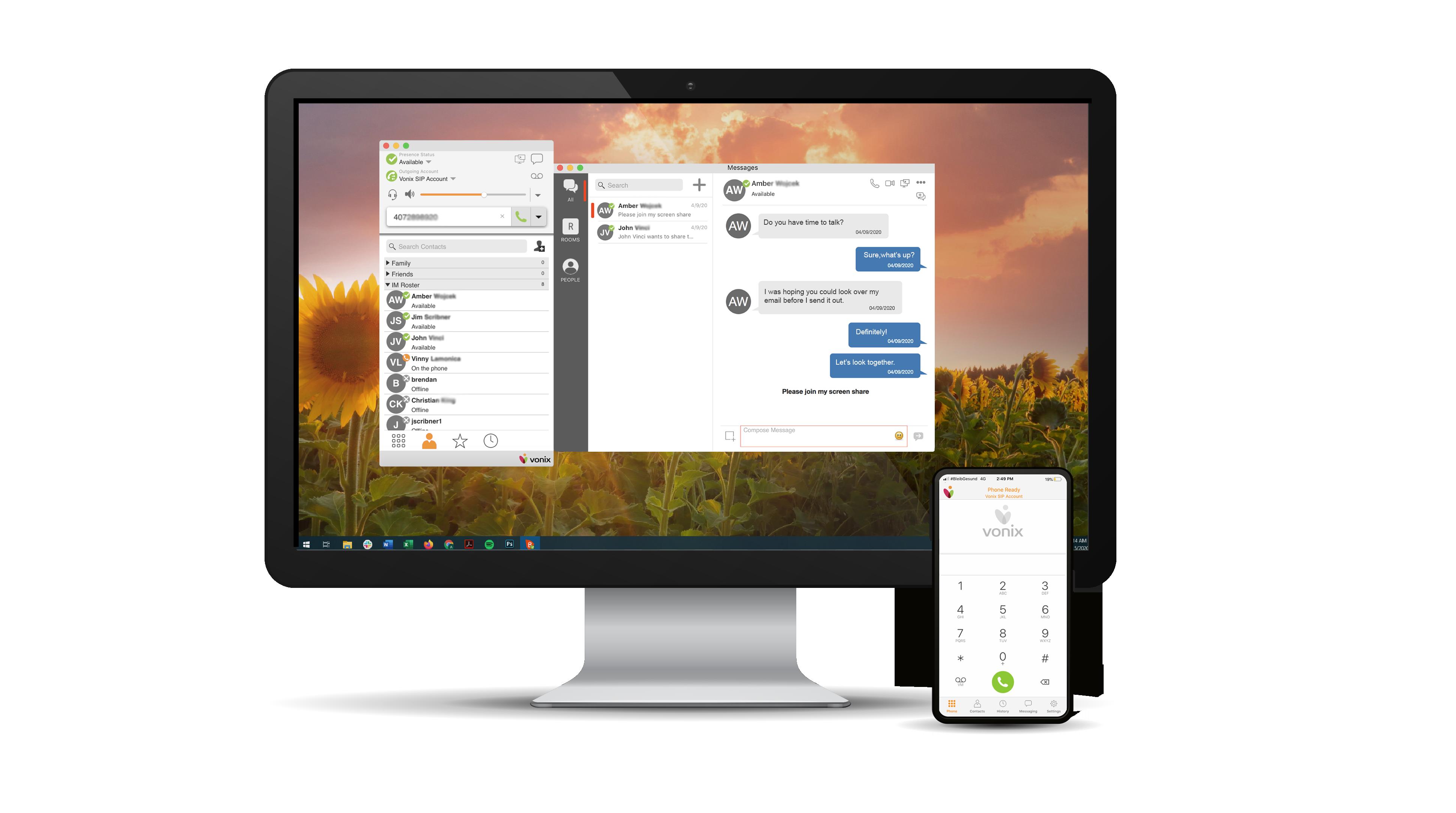 Vonix Desktop