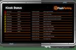 FlashPARCS Software - FlashPARCS kiosk status display