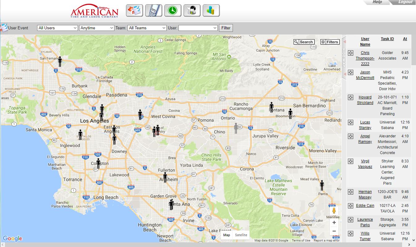 GPS location & tracking