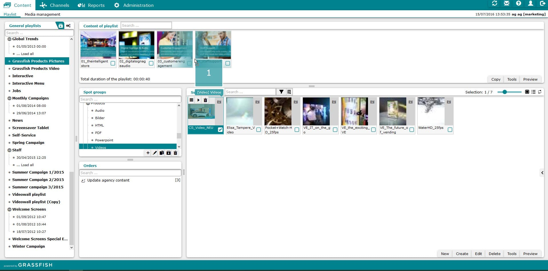 Digital Signage CMS Software - 3