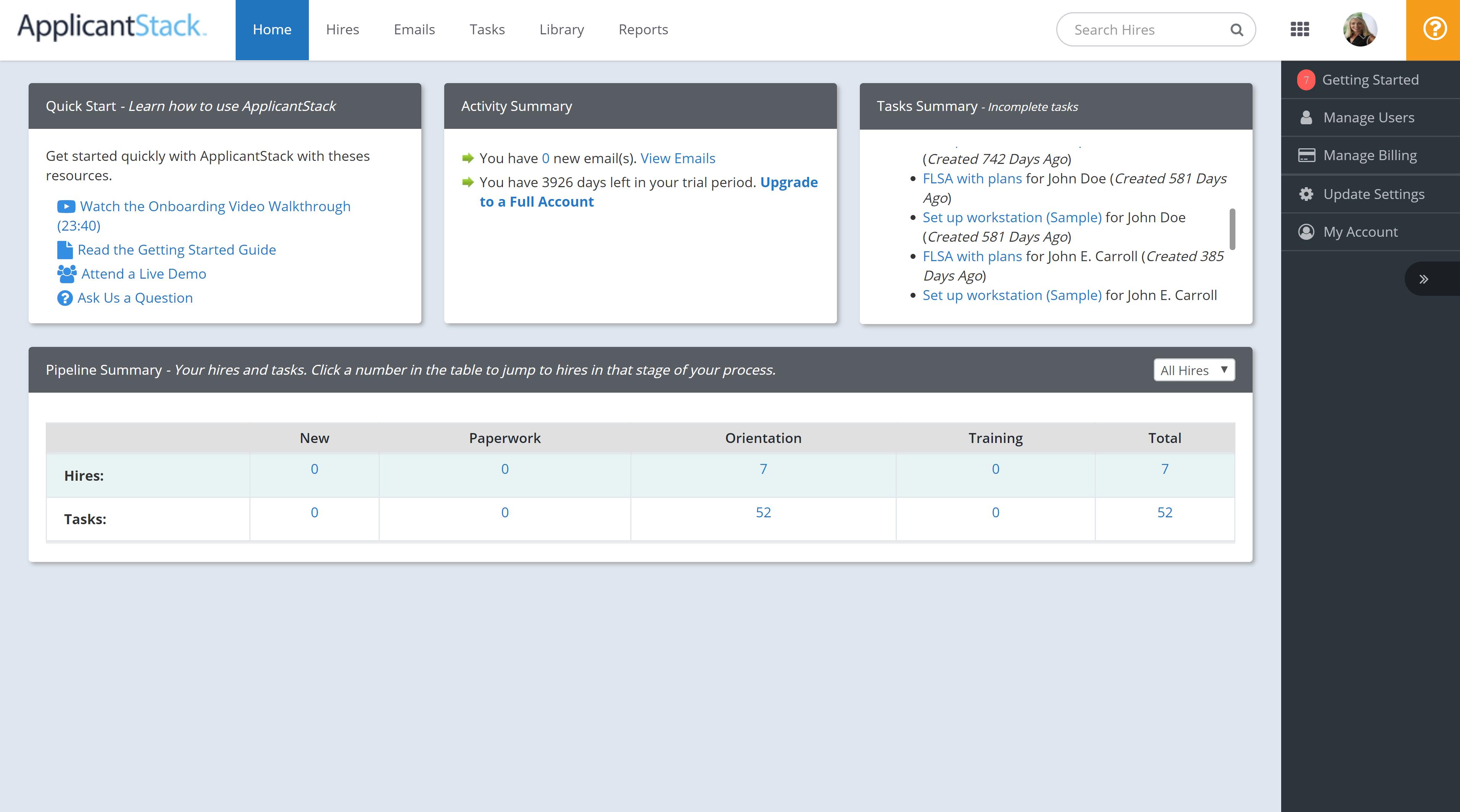 ApplicantStack Software - ApplicantStack candidate feedback