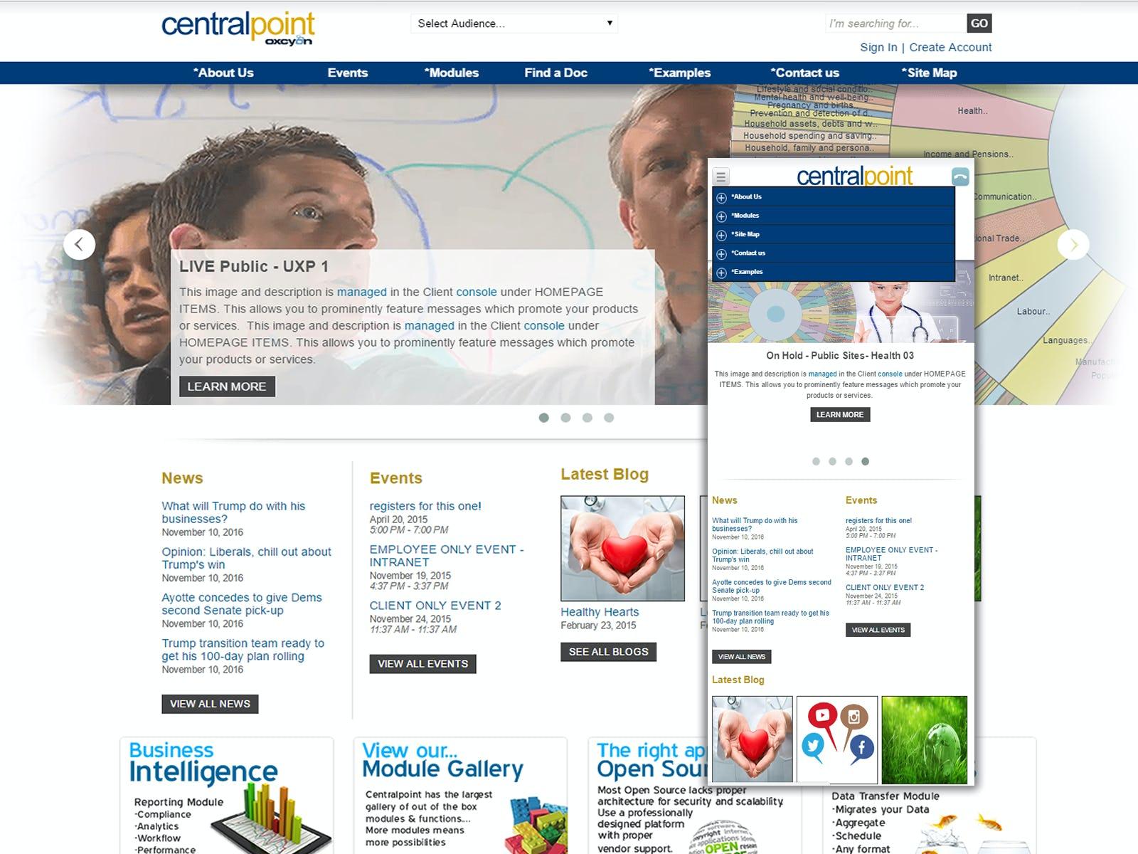 Centralpoint Software - Homepage