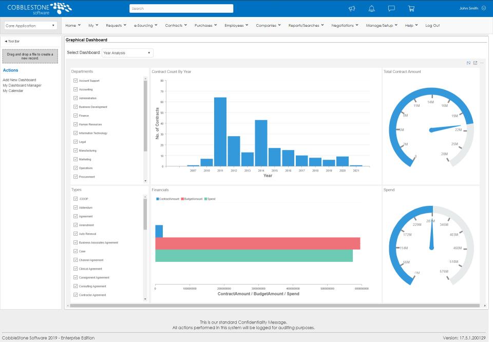 CobbleStone Contract Insight Software - Easy Contract Analytics with CobbleStone