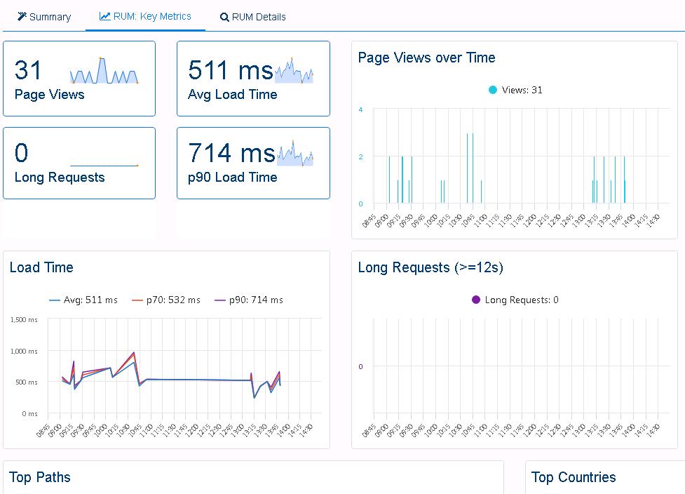Web Application Performance Monitoring