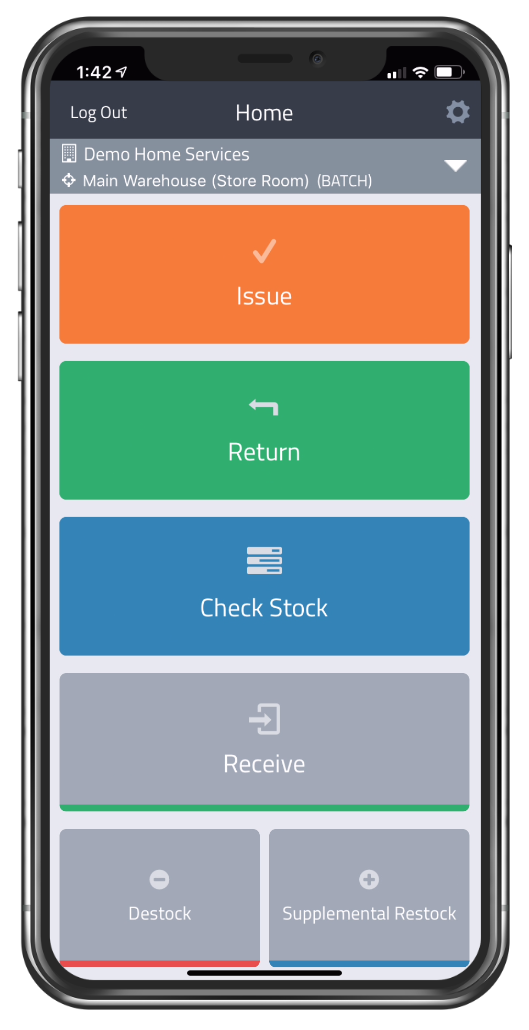 MarginPoint Software - Home Screen