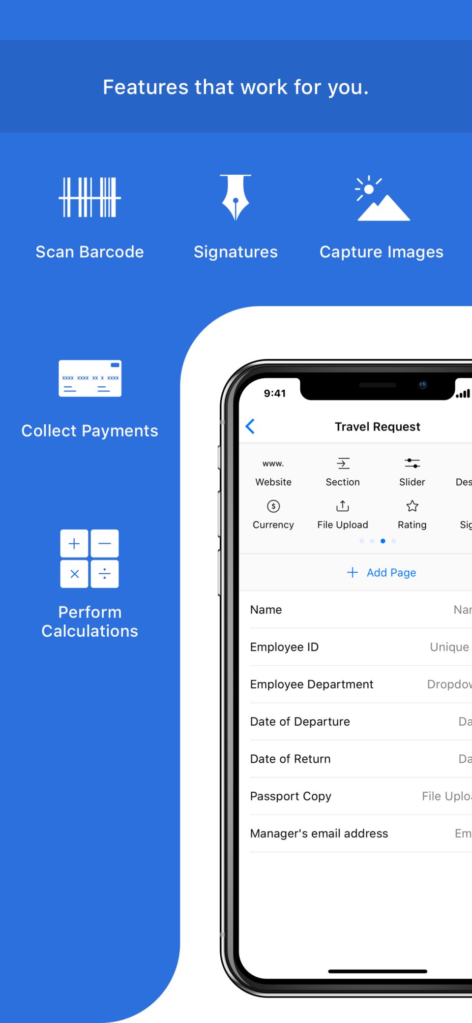 Free Offline Mobile Forms App