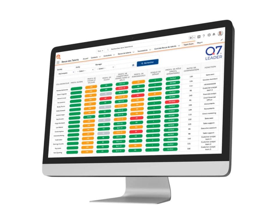 Crosstalent HRMS Software - Talent Management