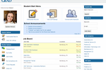 STARS screenshot: Student profile allows tracking placement records and helps to build alumni database