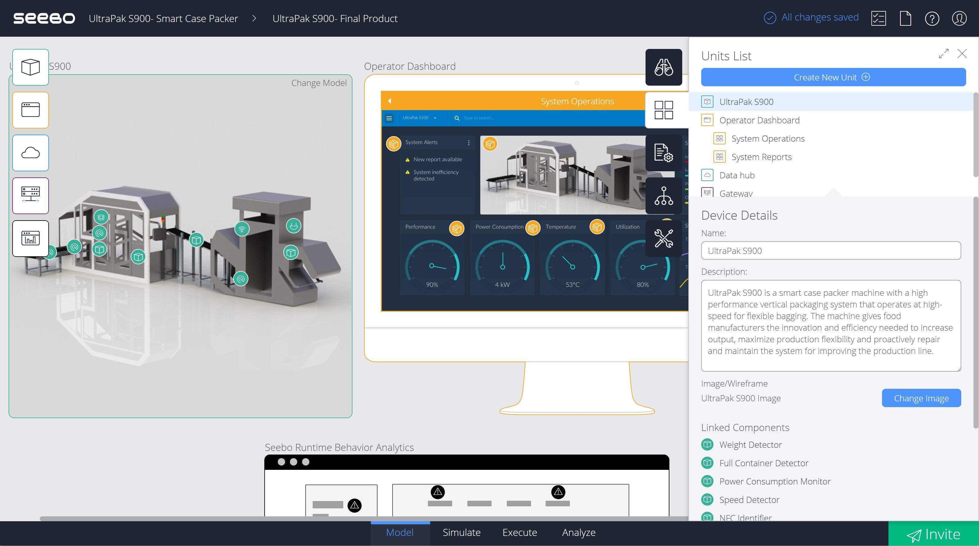 Seebo Software - Create new unit