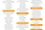 The Devine Group Suite screenshot: Choose from a selection of common job models when creating job profiles for openings