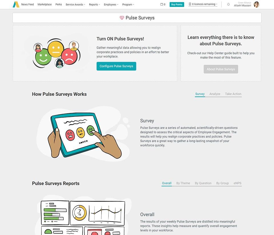 Pulse Surveys Program