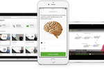 Capture d'écran pour Lecturio : Lecturio is accesible through web & mobile apps