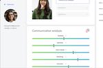 Capture d'écran pour Talentcube : Talentcube communication analysis