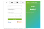 PayXpert Software - PayXpert payment page on desktop