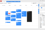Setster screenshot: Weekly Calendar View
