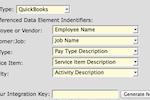 Caretime screenshot: Quickbooks API