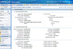 Oracle CRM On Demand screenshot: Household and financial details