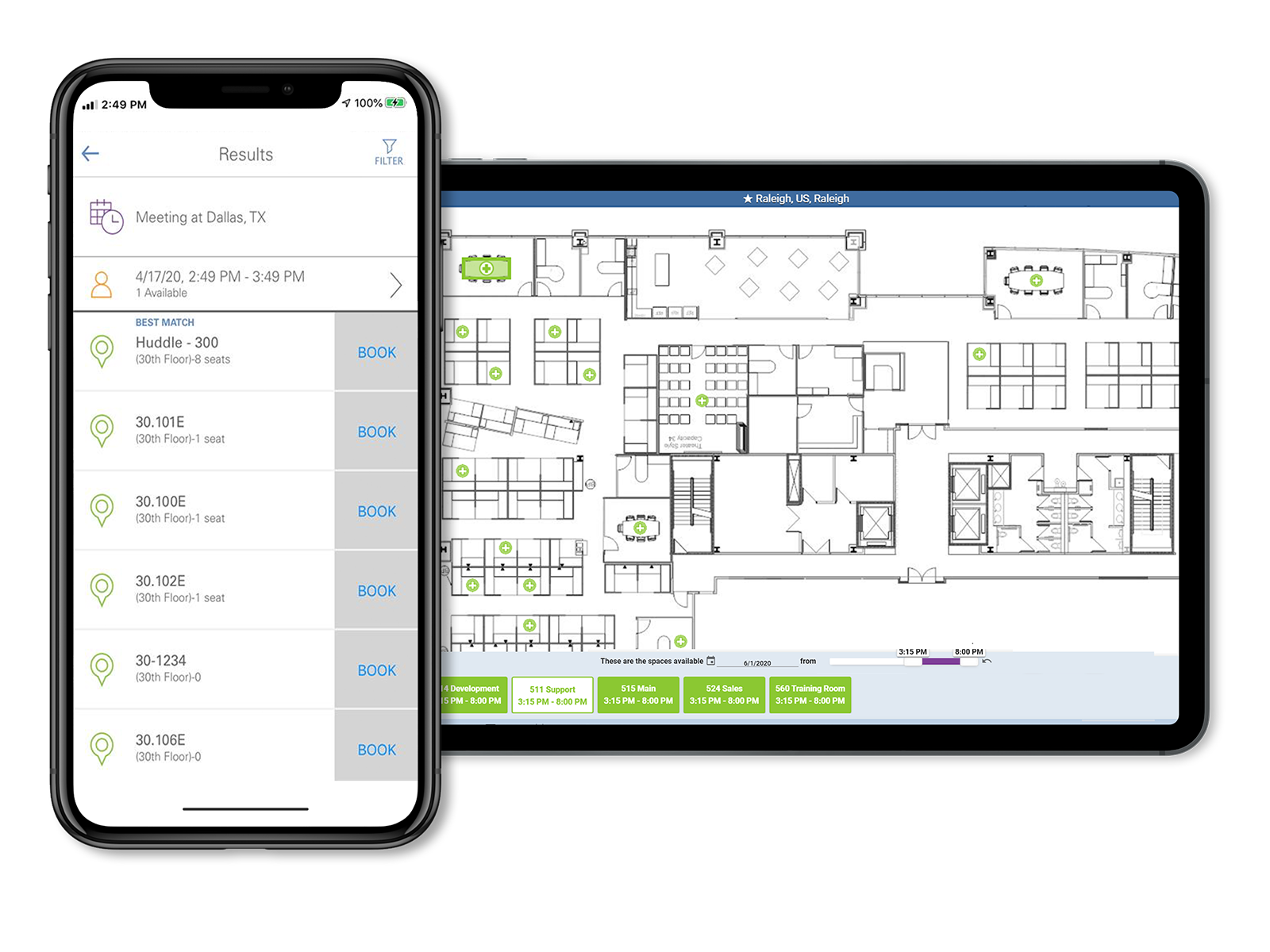FMS:Employee Map View (Desktop and Mobile)