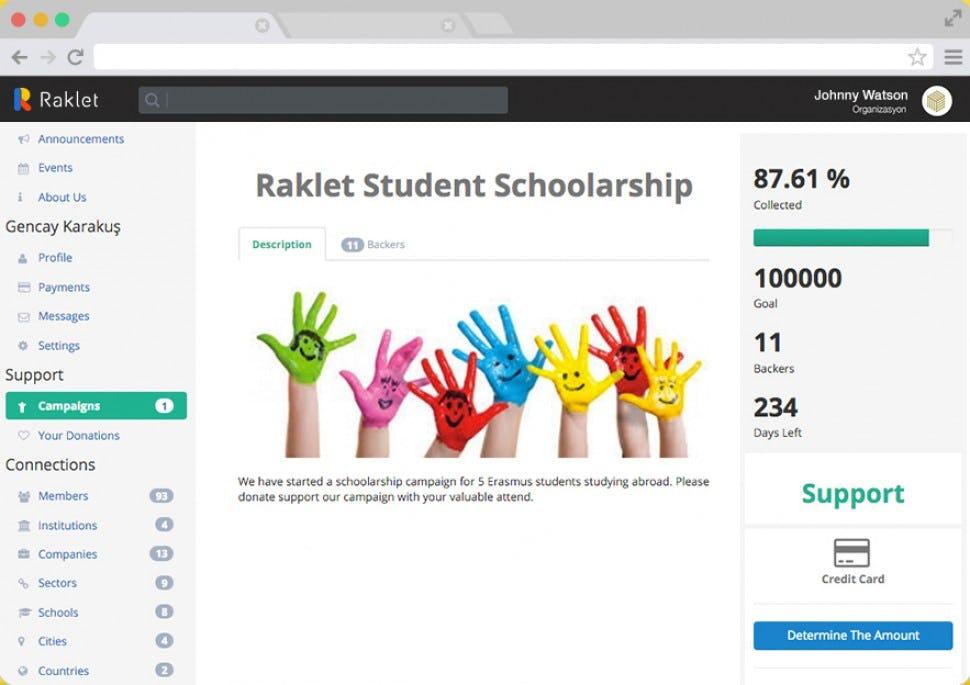 Raklet Software - Campaigns