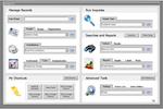 ACS screenshot: ACS manage records