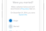 TurboTax Business screenshot: TurboTax works like an interview, asking questions that could affect tax situations