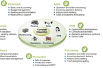 Captura de tela do SAP Business One: Sap Business One - CRM - Graphic