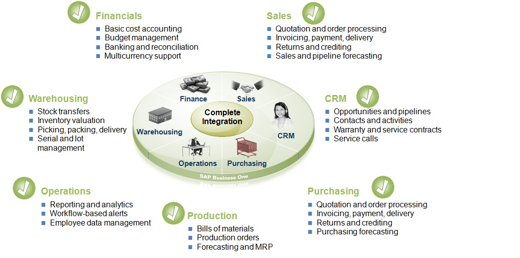 Sap Business One - CRM - Graphic