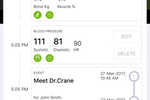MyCooey screenshot: MyCooey Kin enables users to to track and monitor elder's health vitals remotely