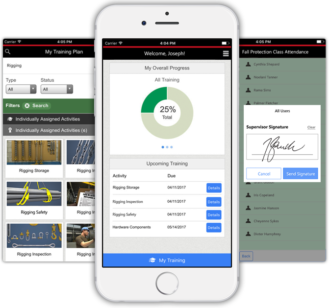 Convergence LMS Software - Accessible on any mobile device.