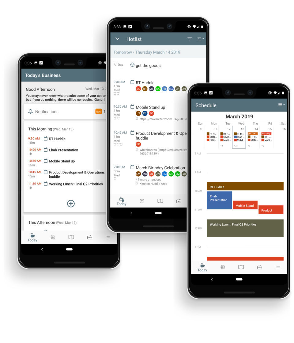 Maximizer CRM Software - Access From Anywhere