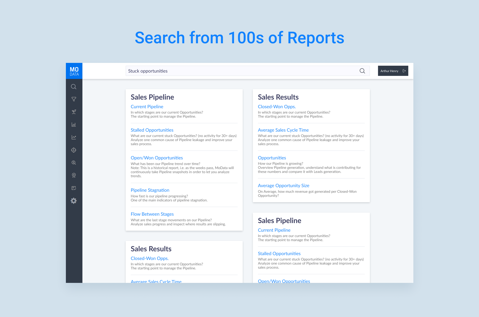 Search Reports