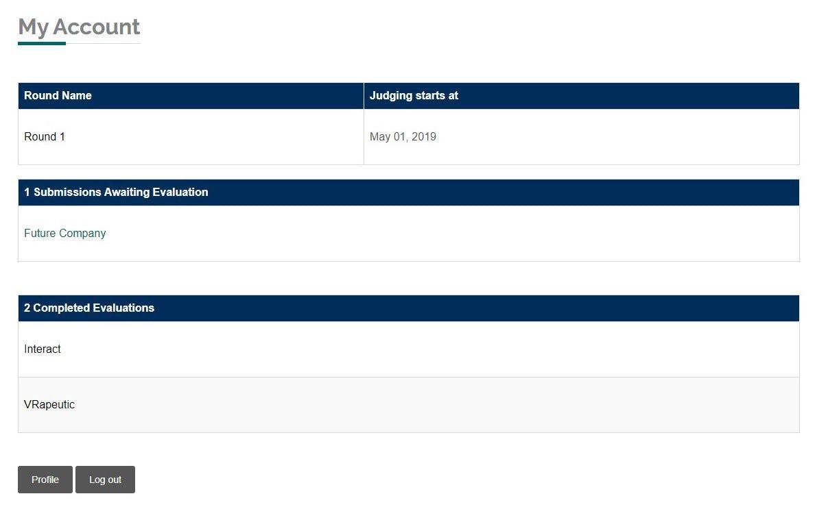 Untap Compete Software - Untap Compete personal account screenshot