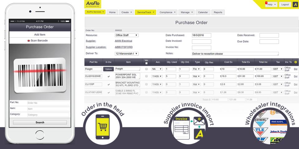 AroFlo Software - 4