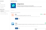 Talkspirit screenshot: Integrations: providing a bunch of native apps that are easy to use and easy to set up. Over 500 integrations are available.