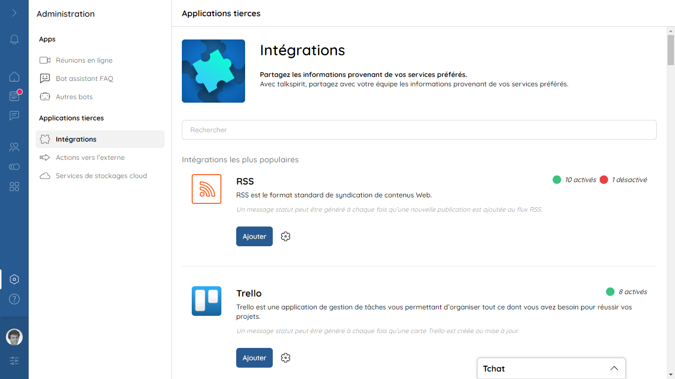Integrations: providing a bunch of native apps that are easy to use and easy to set up. Over 500 integrations are available.