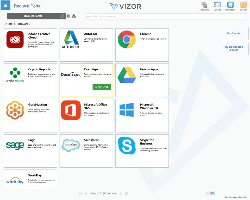 VIZOR IT Asset Management Logiciel - 5