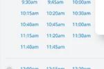 HealthEngine screenshot: HealthEngine appointment scheduler