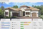 Co-construct screenshot: Client Dashboard