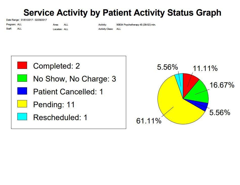 Epitomax Software - Service activity graph