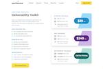 Captura de tela do ZeroBounce: ZeroBounce Deliverability Toolkit