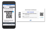Captura de pantalla de Eventsquid: Check-in tools are compatible for use on most mobile devices, allowing event door staff to scan coded attendee badges, tickets, vouchers, lanyards etc