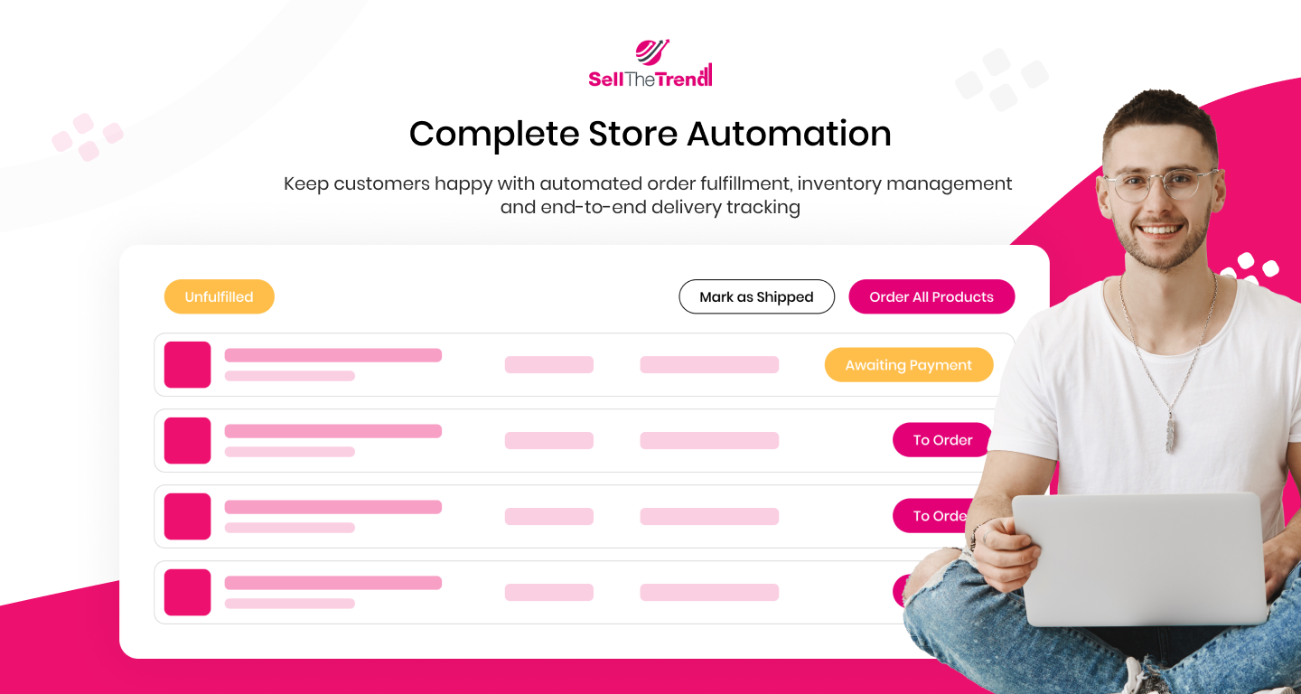Complete Store Automation with 1-Click Order Fulfillment