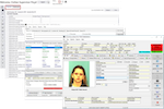 SmartJAIL screenshot: SmartJAIL provides users with instant access to detailed inmate histories