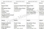 GroveMenus screenshot: Manage prep/pull sheets using Grove Menus
